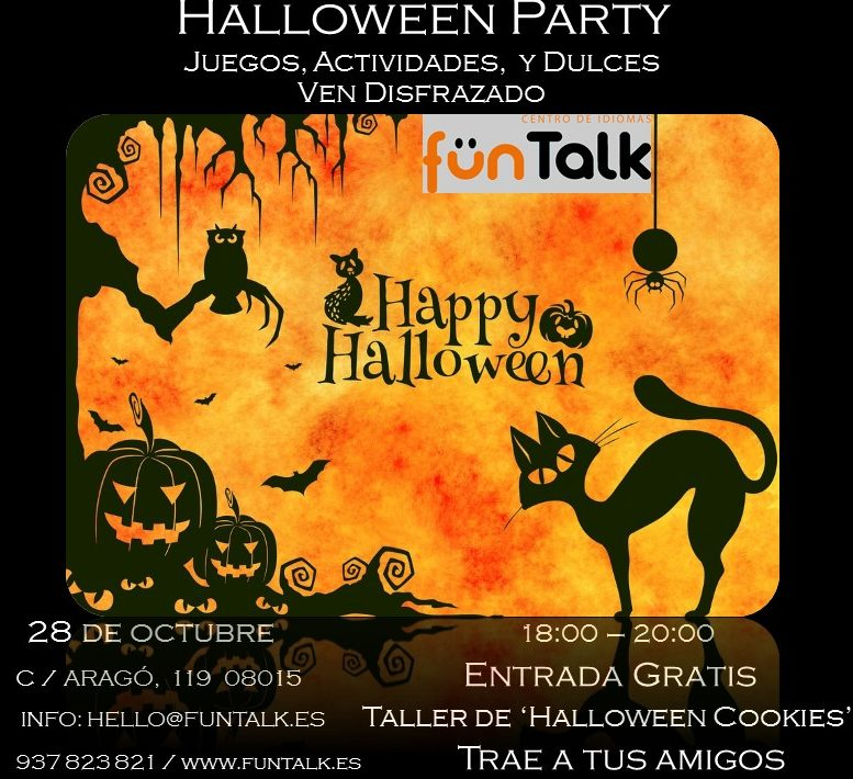 Happy Hallowen and party at FunTalk