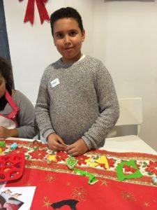 La imaginación al poder en el taller en inglés de christmas cookies