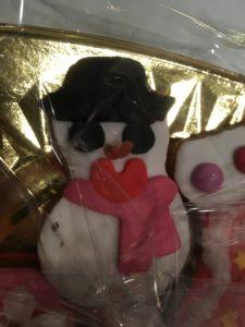 Creatividad en el taller en inglés de christmas cookies