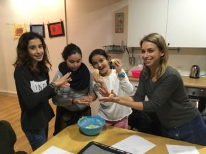 Taller de cocina en inglés en FunTalk