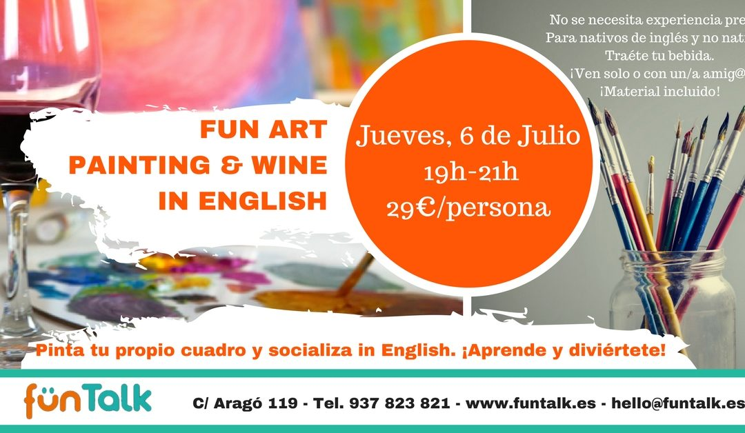 Fun Art – Painting & Wine