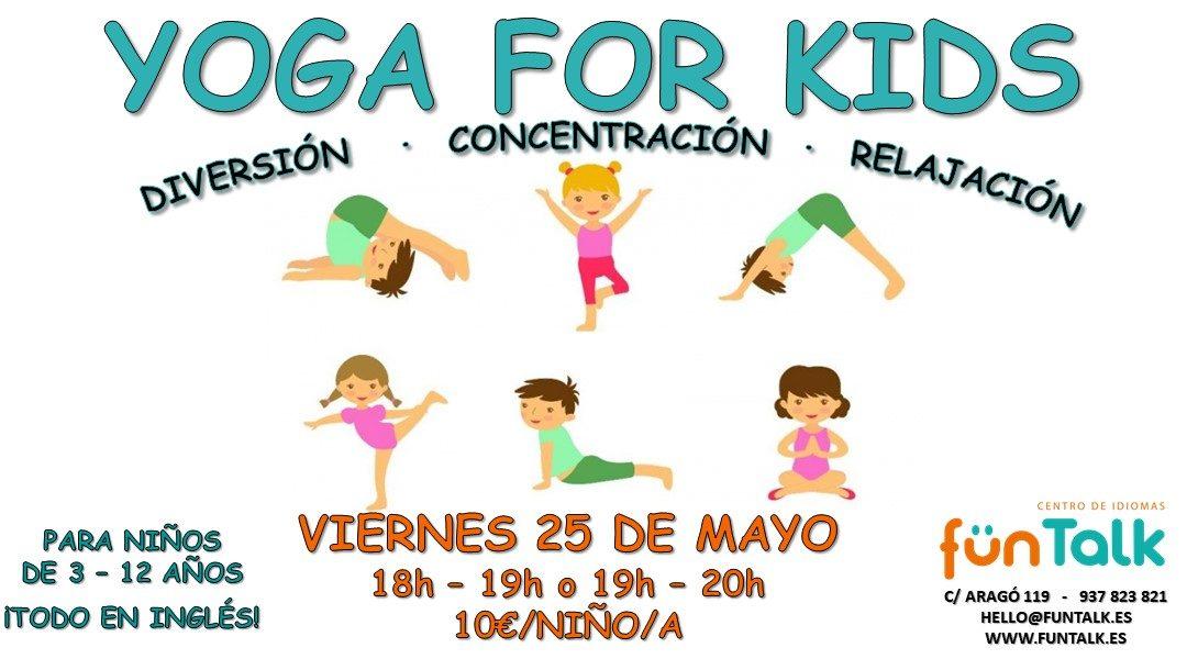 Eventos en inglés para niños – mayo 2018