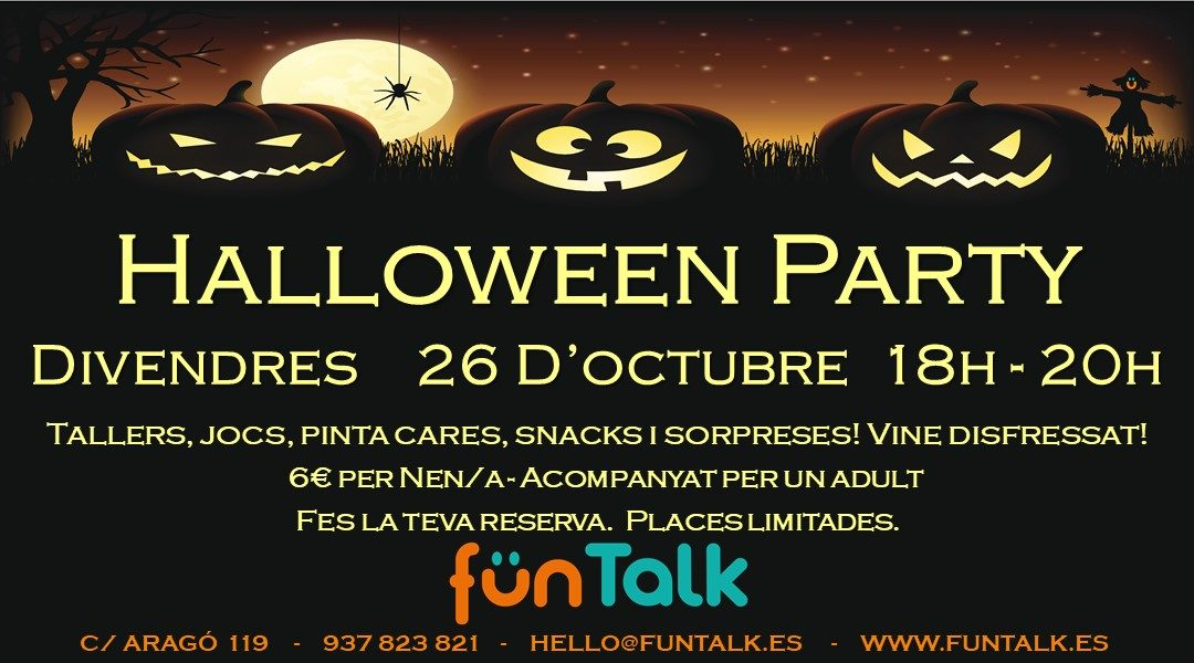 FunTalk Halloween Party